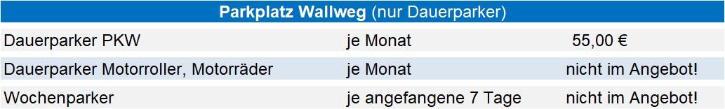 HPG Gebühren PP Wallweg 01.01.2021